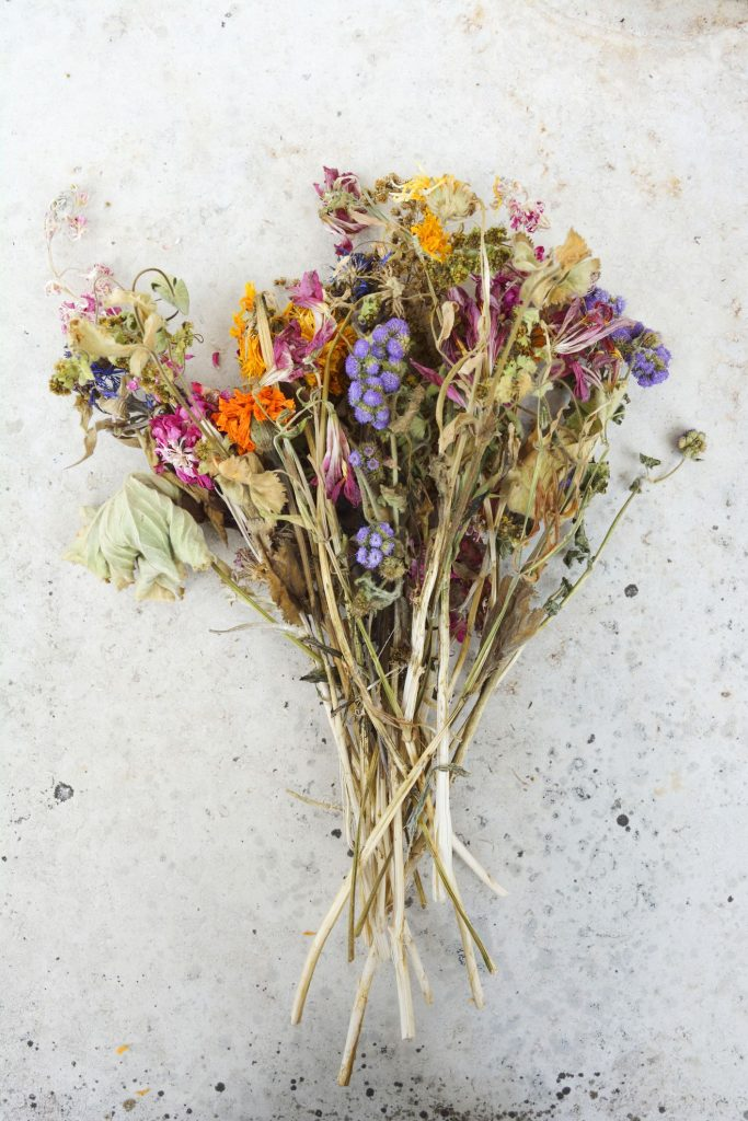 Flowers Can Be Dried